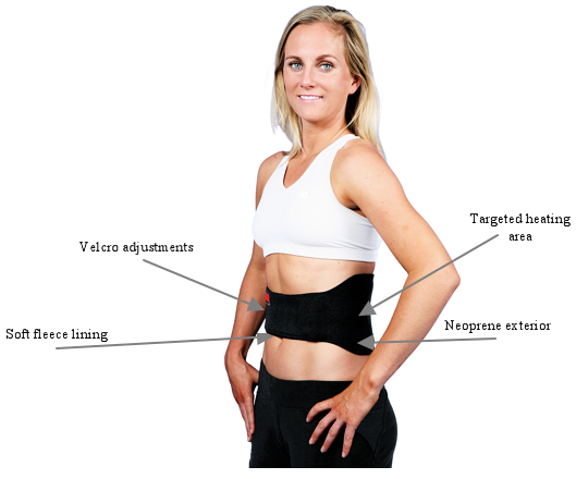 Plug-in Infrared Heat Therapy Back Wrap