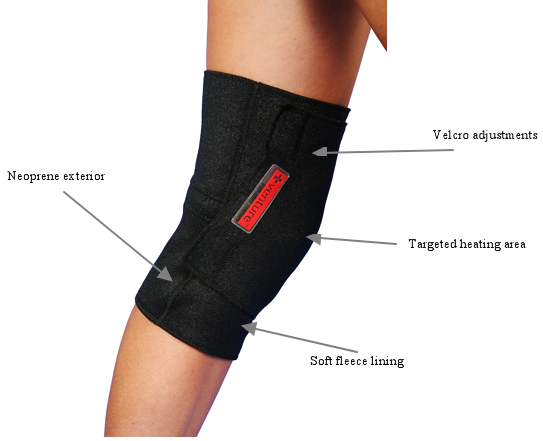 Plug-in Infrared Heat Therapy Knee Wrap